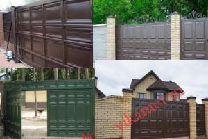 Филенчатые ворота Каскад в городе Нижний Новгород