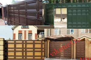 Филенчатые ворота Каскад в городе Сураж