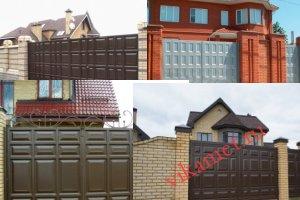 Филенчатые ворота Каскад в городе Тобольск