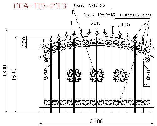 Как поставить распашные ворота