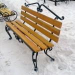 скамейка-лиственница
