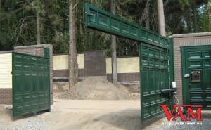 Ворота Каскад для грузовых автомобилей