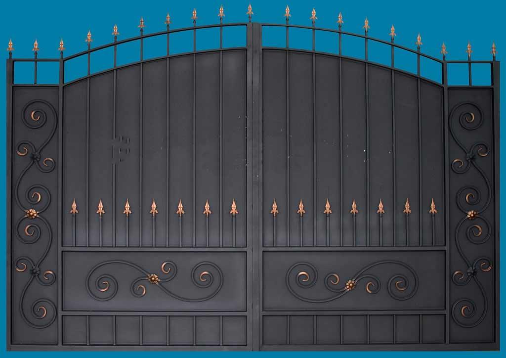 Прозрачные автоматические ворота