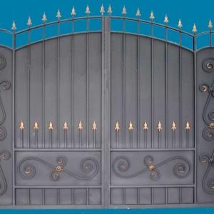 Ворота Боярские с арочными плечами