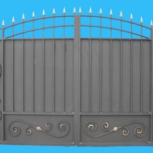 Ворота въездные Классика
