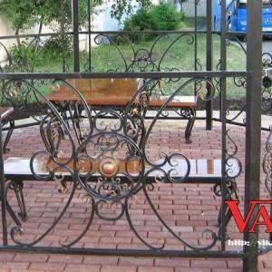 Кованая садовая мебель Викамет