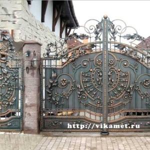 Ворота кованые ВикторияАртМеталл
