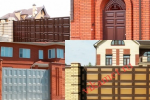 Филенчатые ворота Каскад в городе Дальнегорск
