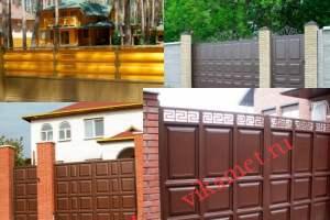 Филенчатые ворота Каскад в городе Кимры