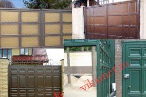 Филенчатые ворота Каскад в городе Ярославль