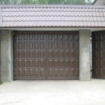 ворота и калитка филенчатые с обкладкой