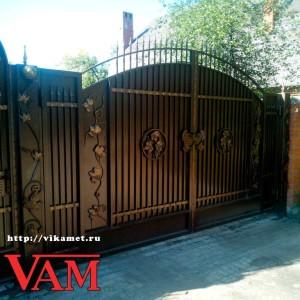 Античные ворота ВикторияАртМеталл