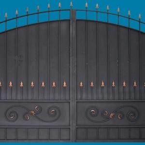 Ворота боярские прямые