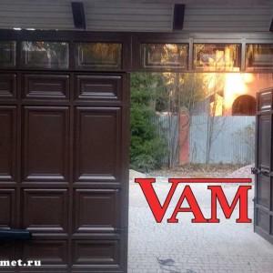 Филенчатые ворота для гаража ВикторияАртМеталл