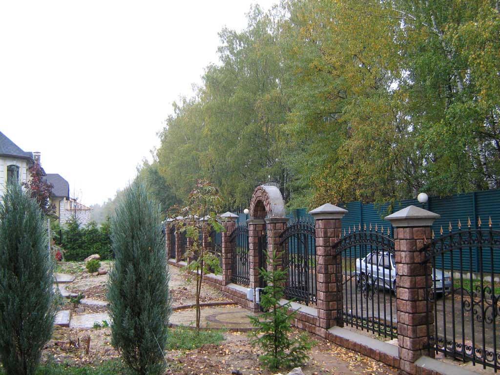 Кованый забор Викамет
