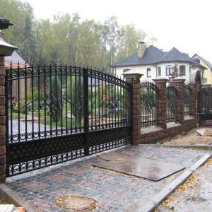 Ворота ОСА для дома