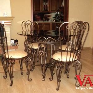Набор металлической мебели Вензель