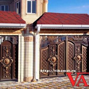 Ворота Династия ВикторияАртМеталл